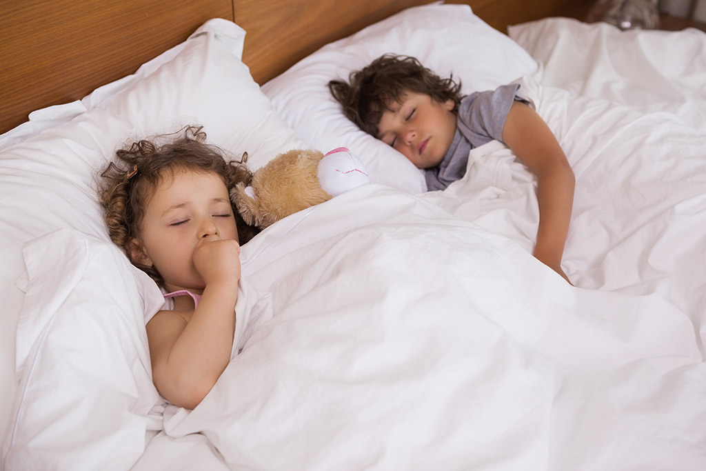 children with autism sleeping